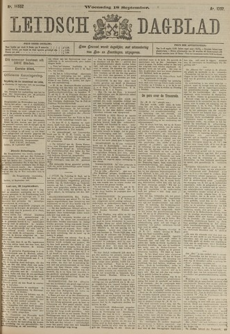 Leidsch Dagblad 1907-09-18