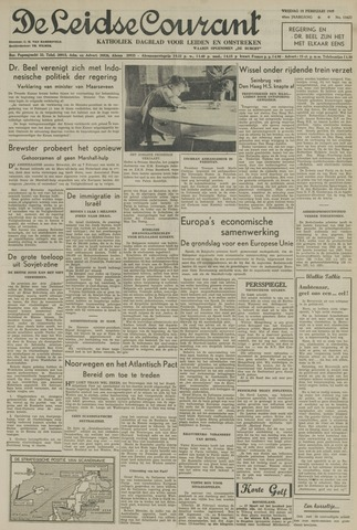 Leidse Courant 1949-02-18