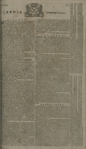 Leydse Courant 1745-01-11