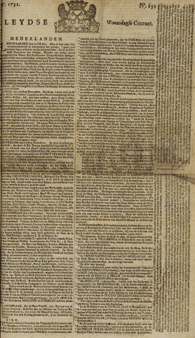 Leydse Courant 1751-11-03