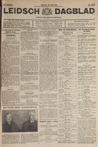 Leidsch Dagblad 1933-06-30