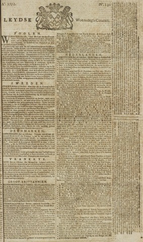 Leydse Courant 1771-10-30