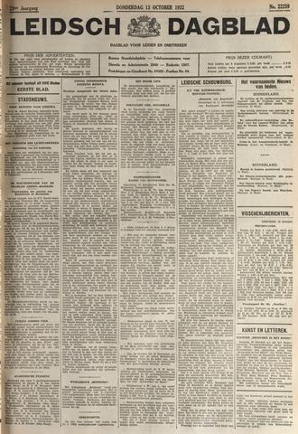 Leidsch Dagblad 1932-10-13