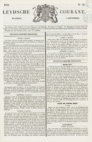 Leydse Courant 1844-09-09