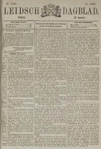 Leidsch Dagblad 1878-01-25