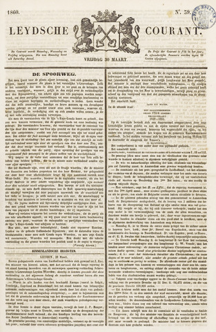 Leydse Courant 1860-03-30
