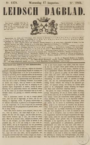 Leidsch Dagblad 1864-08-17