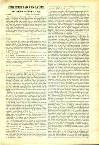 Handelingen van de Raad 1899-05-31
