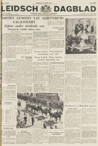 Leidsch Dagblad 1954-04-27