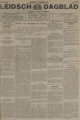 Leidsch Dagblad 1935-12-07