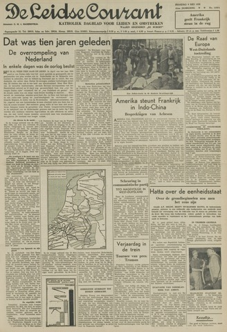 Leidse Courant 1950-05-09