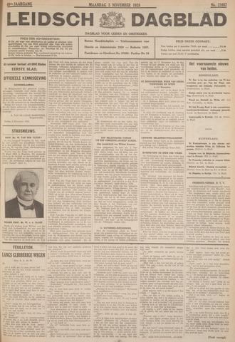 Leidsch Dagblad 1928-11-05