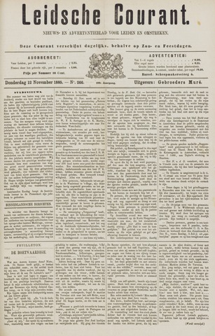 Leydse Courant 1885-11-12