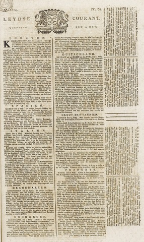 Leydse Courant 1814-05-25