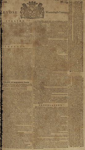 Leydse Courant 1766-11-19