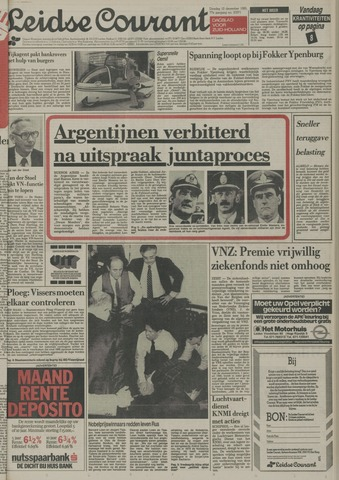 Leidse Courant 1985-12-10