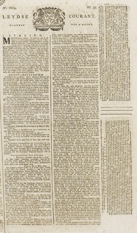 Leydse Courant 1814-03-28