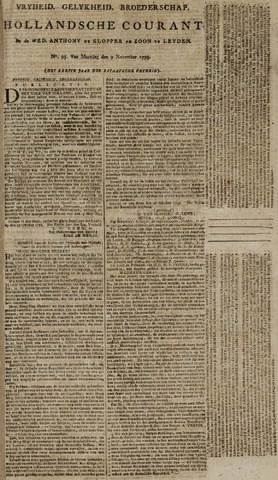 Leydse Courant 1795-11-09