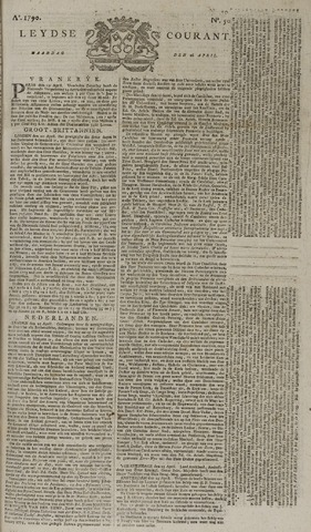 Leydse Courant 1790-04-26