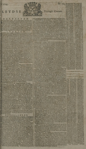 Leydse Courant 1745-08-27