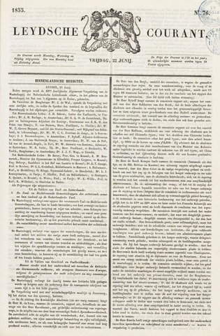 Leydse Courant 1855-06-22