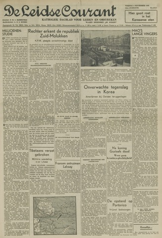 Leidse Courant 1950-11-03