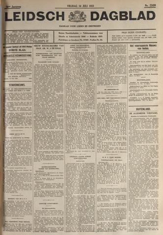 Leidsch Dagblad 1933-07-14