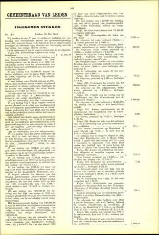 Handelingen van de Raad 1934-05-25