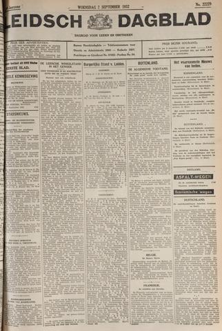 Leidsch Dagblad 1932-09-07