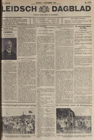 Leidsch Dagblad 1933-09-01