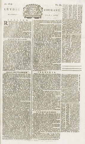 Leydse Courant 1819-06-07