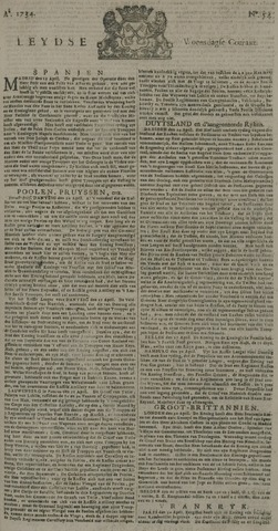 Leydse Courant 1734-05-05