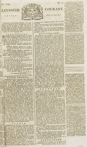 Leydse Courant 1825-01-14