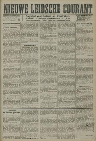 Nieuwe Leidsche Courant 1923-11-28