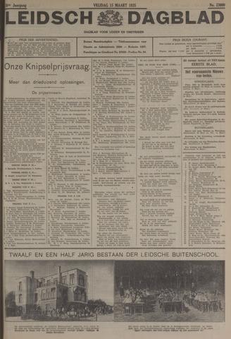 Leidsch Dagblad 1935-03-15