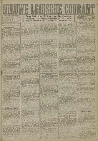 Nieuwe Leidsche Courant 1921-11-11