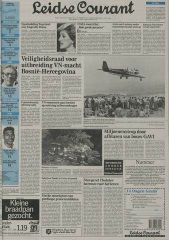 Leidse Courant 1992-06-09
