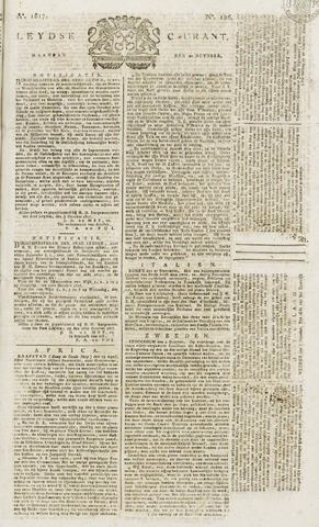 Leydse Courant 1817-10-20