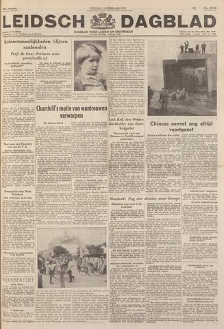 Leidsch Dagblad 1951-02-16