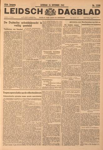 Leidsch Dagblad 1942-09-26