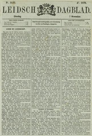 Leidsch Dagblad 1876-11-07