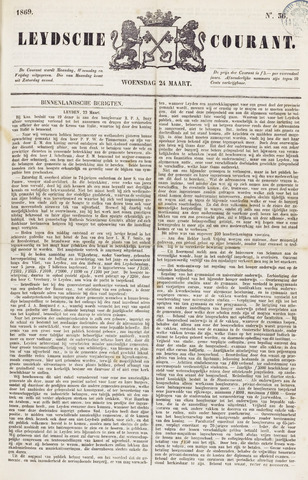 Leydse Courant 1869-03-24