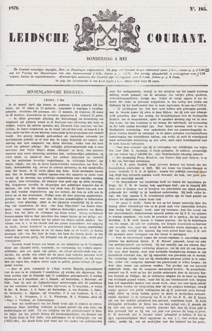 Leydse Courant 1876-05-04