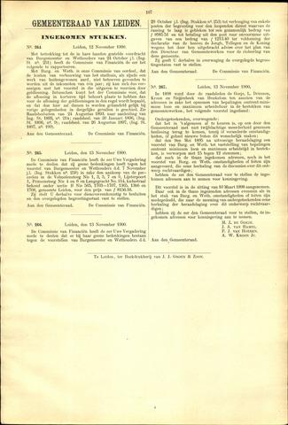 Handelingen van de Raad 1900-11-12