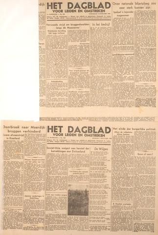 Dagblad voor Leiden en Omstreken 1944-11-08