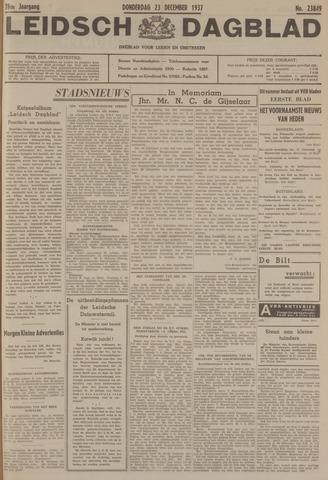 Leidsch Dagblad 1937-12-23