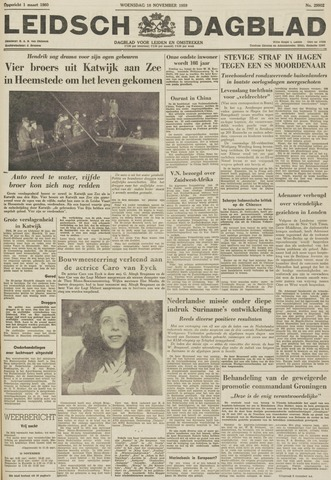 Leidsch Dagblad 1959-11-18