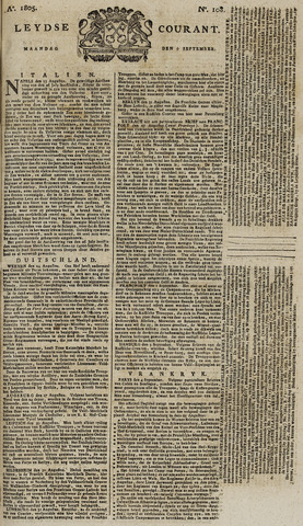 Leydse Courant 1805-09-09