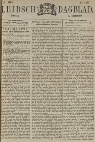 Leidsch Dagblad 1878-09-17
