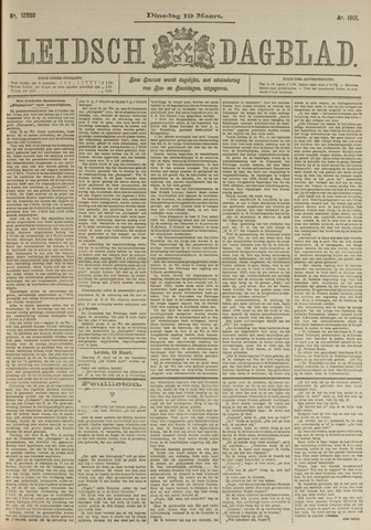 Leidsch Dagblad 1901-03-19
